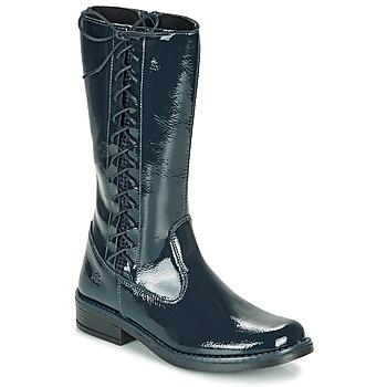 鞋子 女孩 都市靴 Citrouille et Compagnie LOUVETTE 蓝色