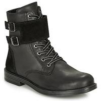 鞋子 女孩 短筒靴 Citrouille et Compagnie LOMENE 黑色