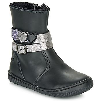 鞋子 女孩 短筒靴 Citrouille et Compagnie LOMINE 黑色