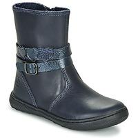 鞋子 女孩 短筒靴 Citrouille et Compagnie LOMINE 蓝色