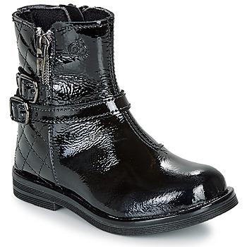 鞋子 女孩 短筒靴 Citrouille et Compagnie LIMIDOU 黑色