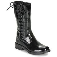 鞋子 女孩 都市靴 Citrouille et Compagnie LAMINOTE 黑色