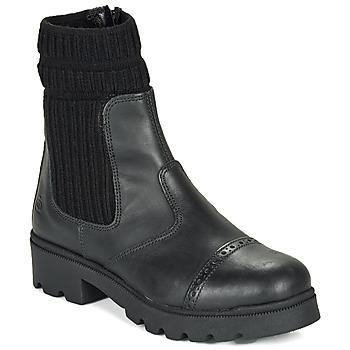 鞋子 女孩 短筒靴 Citrouille et Compagnie LOBINOUTE 黑色