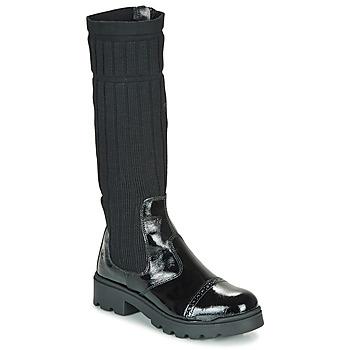 鞋子 女孩 短筒靴 Citrouille et Compagnie LAPADOU 黑色