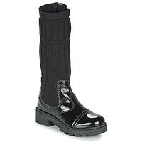 鞋子 女孩 都市靴 Citrouille et Compagnie LAPADOU 黑色