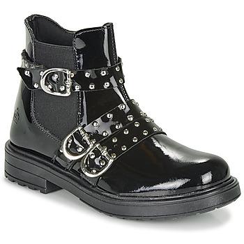 鞋子 女孩 短筒靴 Citrouille et Compagnie LIRONDEL 黑色