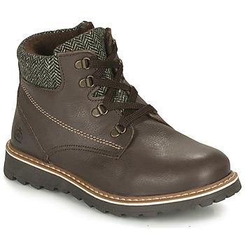 鞋子 男孩 短筒靴 Citrouille et Compagnie HEFINETTE 棕色