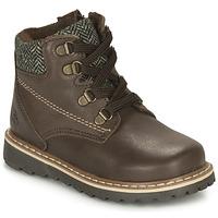 鞋子 男孩 短筒靴 Citrouille et Compagnie LINETTE 棕色