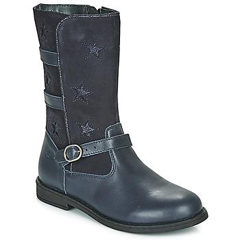 鞋子 女孩 都市靴 Citrouille et Compagnie HANDRE 海藍色