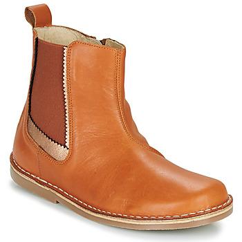 鞋子 女孩 短筒靴 Citrouille et Compagnie LOUTE 驼色