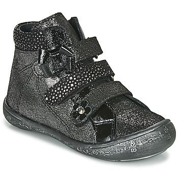 鞋子 女孩 高帮鞋 Citrouille et Compagnie HODIL 黑色