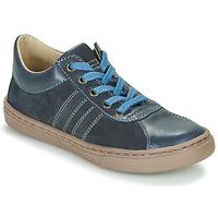 鞋子 男孩 德比 Citrouille et Compagnie LIMINO 海蓝色