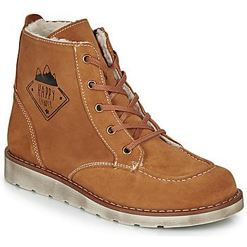 鞋子 男孩 短筒靴 Citrouille et Compagnie LISITON 驼色