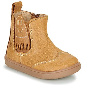 鞋子 男孩 短筒靴 Citrouille et Compagnie LOKO 驼色