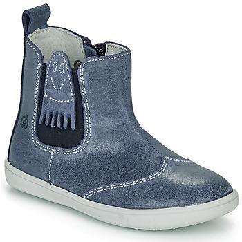 鞋子 男孩 短筒靴 Citrouille et Compagnie LESKIMO 蓝色