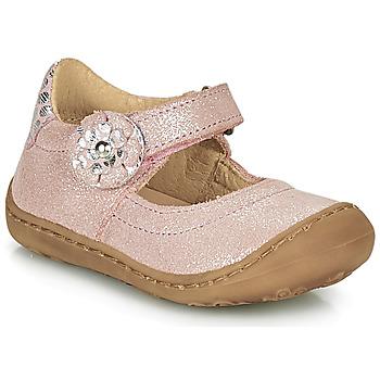 鞋子 女孩 平底鞋 Citrouille et Compagnie LASKIMA 玫瑰色