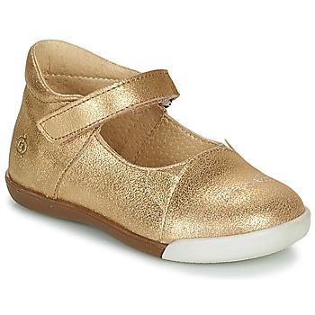 鞋子 女孩 平底鞋 Citrouille et Compagnie LAKALA 金色