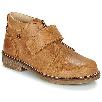 鞋子 男孩 短筒靴 Citrouille et Compagnie LAPUPI 駝色