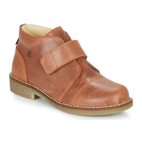 鞋子 男孩 短筒靴 Citrouille et Compagnie LAPUPI 棕色