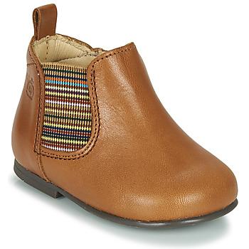 鞋子 女孩 短筒靴 Citrouille et Compagnie LISETTE 驼色