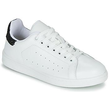 鞋子 女士 球鞋基本款 Yurban SATURNA 白色 / 黑色