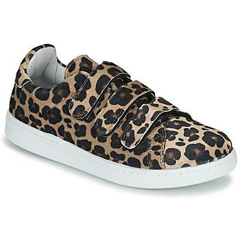 鞋子 女士 球鞋基本款 Yurban LABANE Leopard
