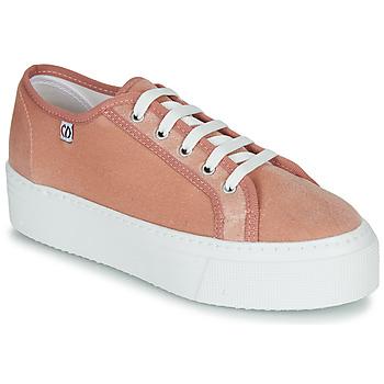 鞋子 女士 球鞋基本款 Yurban SUPERTELA 玫瑰色
