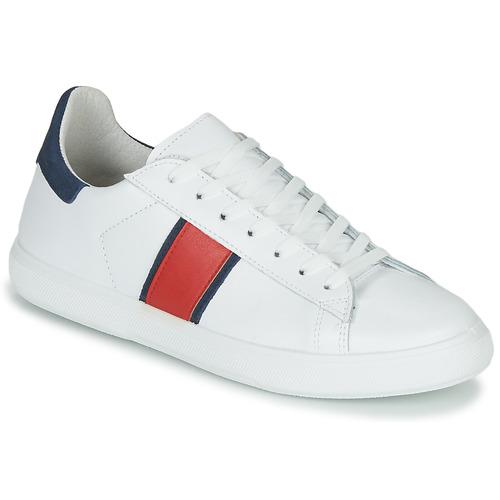 鞋子 男士 球鞋基本款 Yurban LOUDE 白色
