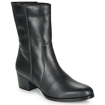 鞋子 女士 短靴 So Size GASPARD 黑色