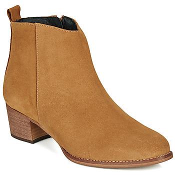鞋子 女士 短靴 So Size MARTINO 駝色