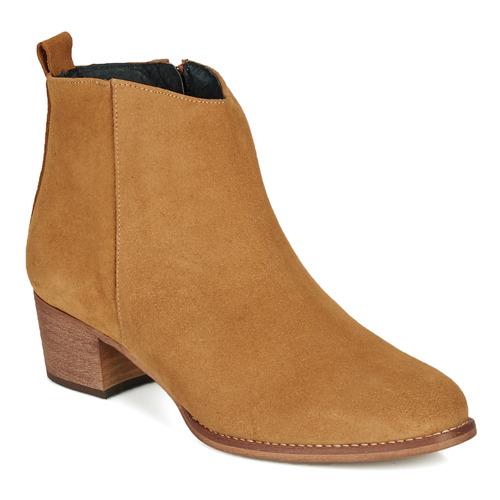 鞋子 女士 短靴 So Size MARTINO 驼色