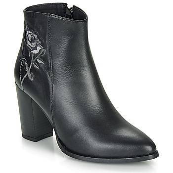 鞋子 女士 短靴 So Size BORDELO 黑色