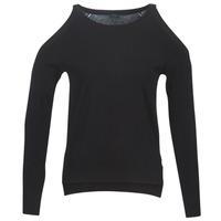 衣服 女士 羊毛衫 Guess CUTOUT 黑色