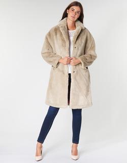 衣服 女士 大衣 Guess SHELLY 米色