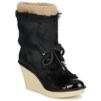 鞋子 女士 短靴 Sonia Rykiel 索尼亚·里基尔 HAIRY 黑色