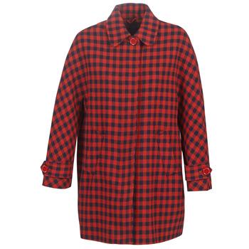 衣服 女士 大衣 Benetton SIDUDEL 棕色 / 多彩