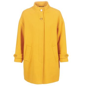 衣服 女士 大衣 Benetton STORI 黄色