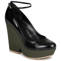 鞋子 女士 高跟鞋 Sonia Rykiel 索尼亚·里基尔 LOCK 黑色 / 绿色