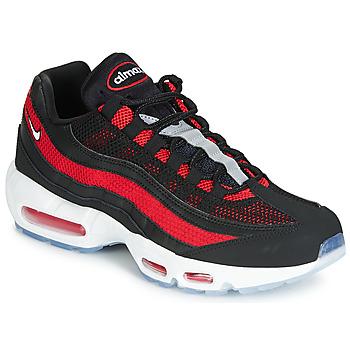 鞋子 男士 球鞋基本款 Nike 耐克 AIR MAX 95 黑色 / 红色