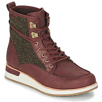 鞋子 女士 短筒靴 Merrell 迈乐 ROAM MID 波尔多红