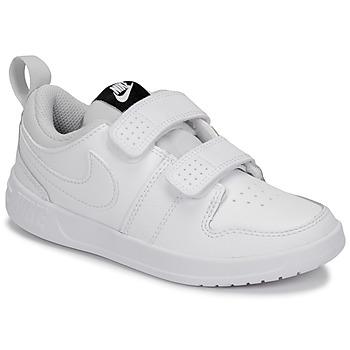 鞋子 儿童 球鞋基本款 Nike 耐克 PICO 5 PRE-SCHOOL 白色