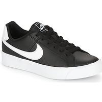 鞋子 女士 球鞋基本款 Nike 耐克 COURT ROYALE AC W 黑色 / 白色