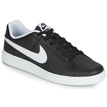鞋子 男士 球鞋基本款 Nike 耐克 COURT ROYALE 黑色 / 白色