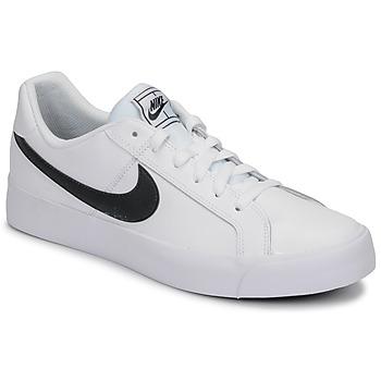 鞋子 男士 球鞋基本款 Nike 耐克 COURT ROYALE AC 白色 / 黑色