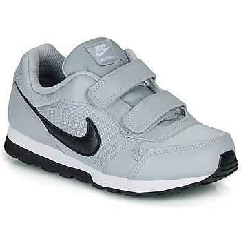 鞋子 儿童 球鞋基本款 Nike 耐克 MD RUNNER 2 PRE-SCHOOL 灰色 / 黑色