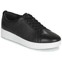 鞋子 女士 球鞋基本款 FitFlop RALLY 黑色