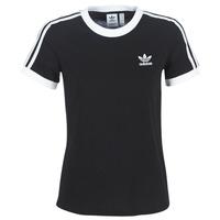 衣服 女士 短袖体恤 Adidas Originals 阿迪达斯三叶草 3 STR TEE 黑色