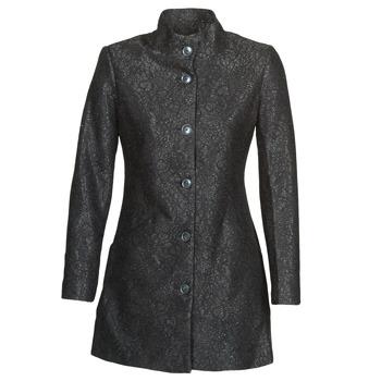 衣服 女士 大衣 Desigual SIMONE 黑色