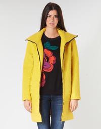 衣服 女士 大衣 Desigual LAND 黄色
