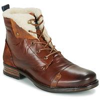 鞋子 男士 短筒靴 Redskins YOUDINE 棕色